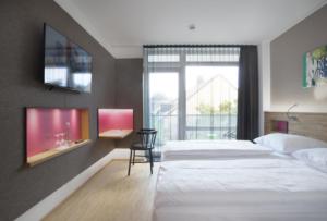 Zimmer im Hotel Perlach München